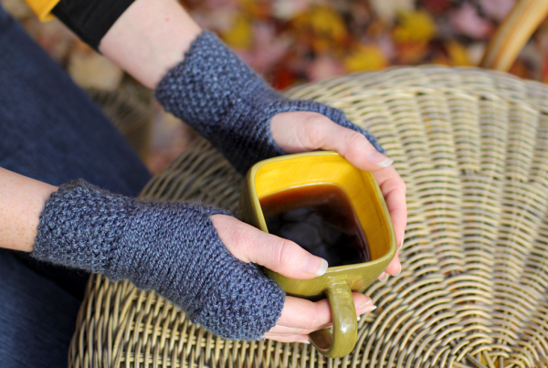 Tea-Dyed Hand Warmers